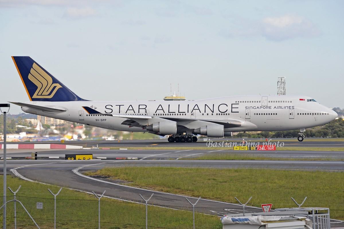 Re:[原创]【CASG】夏天到了,拍飞机的黄金时间到了,好飞机也到了~~ BOEING 747-400 9V-SPP Australia SYDNEY KINGSFORD