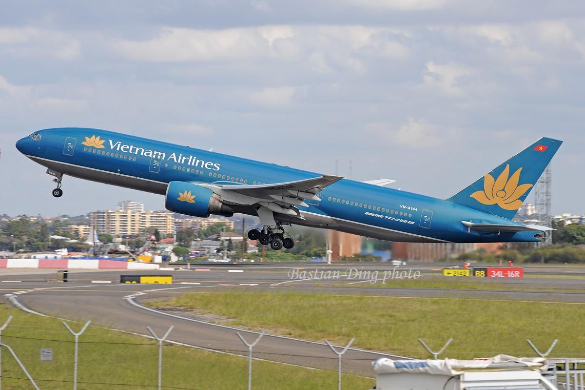 Re:[原创]【CASG】夏天到了,拍飞机的黄金时间到了,好飞机也到了~~ BOEING 777-200 VN-A144 Australia SYDNEY KINGSFORD