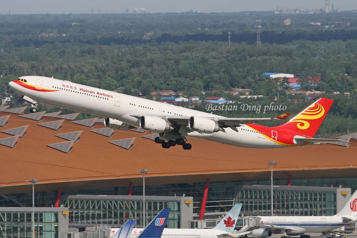 Re:[原创]【CASG】夏天到了,拍飞机的黄金时间到了,好飞机也到了~~ AIRBUS A340-600 B-6508 中国北京首都机场