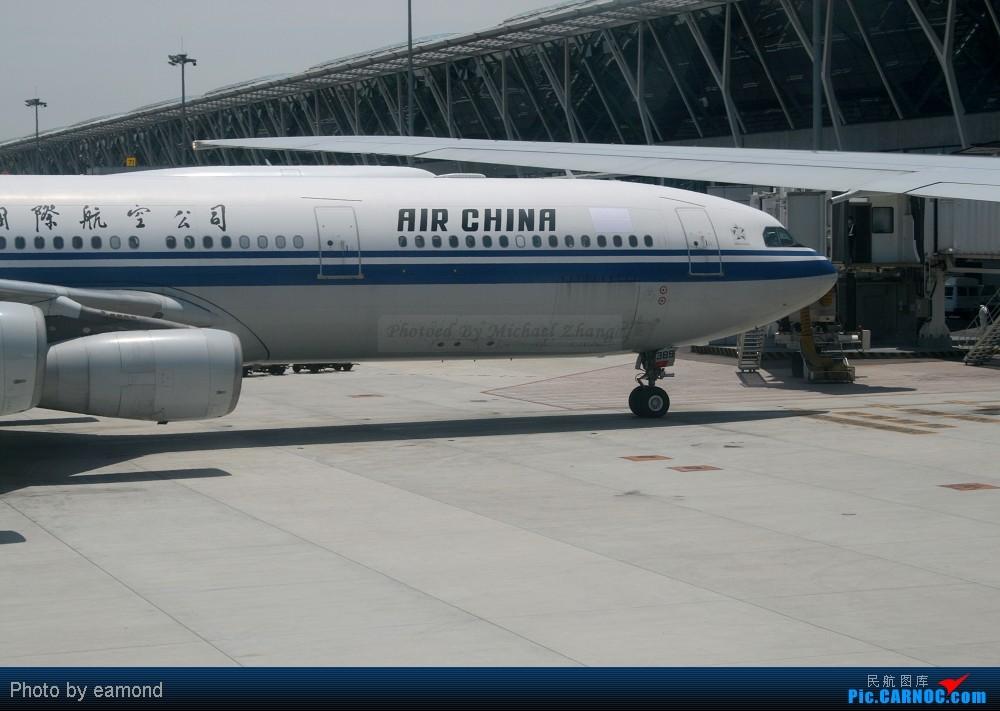 Re:{烧焦图籍}今日生日,挂几张图,一起庆祝下 AIRBUS A340-313X B-2389 中国上海浦东机场