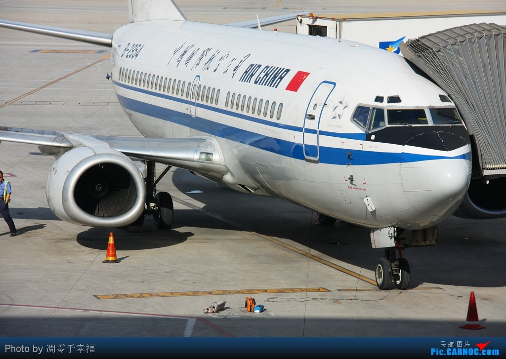 Re:[原创]名言--A老外是牛,J老外是猪。。 BOEING 737-300 B-2954 中国北京首都机场