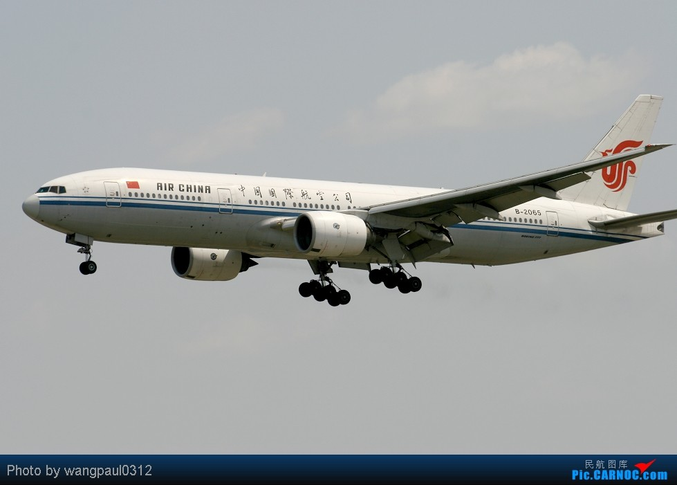 Re:[原创]周末也发帖!好天发新帖,烂天贴旧图 BOEING 777-200 B-2065 中国北京首都机场