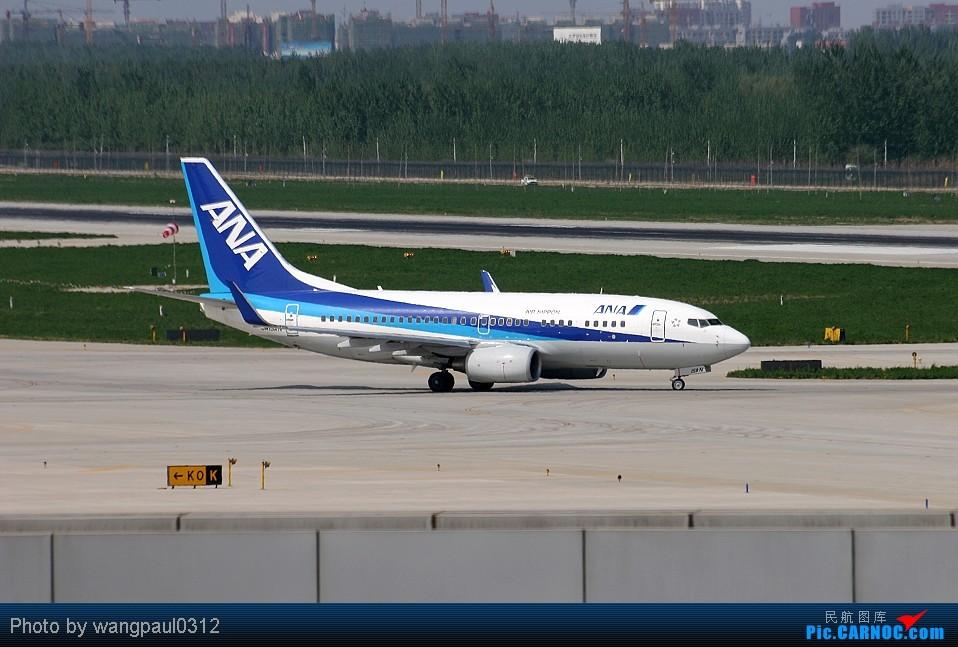 Re:[原创]周末也发帖!好天发新帖,烂天贴旧图 BOEING 737-700 JA15AN 中国北京首都机场