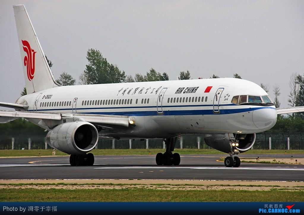 Re:[原创]大片--内外场皆有!! BOEING 757-200 B-2820 中国北京首都机场