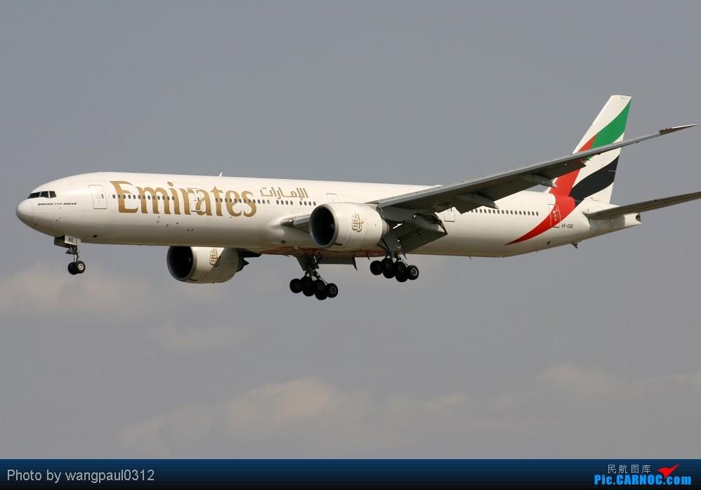 Re:[原创]周末也发帖!好天发新帖,烂天贴旧图 BOEING 777-36N/ER A6-EBE 中国北京首都机场