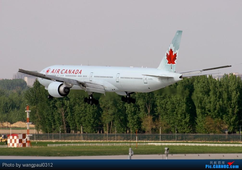 Re:[原创]周末也发帖!好天发新帖,烂天贴旧图 BOEING 777-333/ER C-FITL 中国北京首都机场