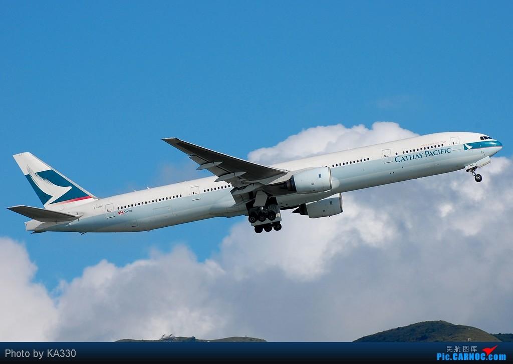 [原创]【HKG】此等好天怎能不拍.... BOEING 777-367 B-HNE 中国香港赤鱲角国际机场