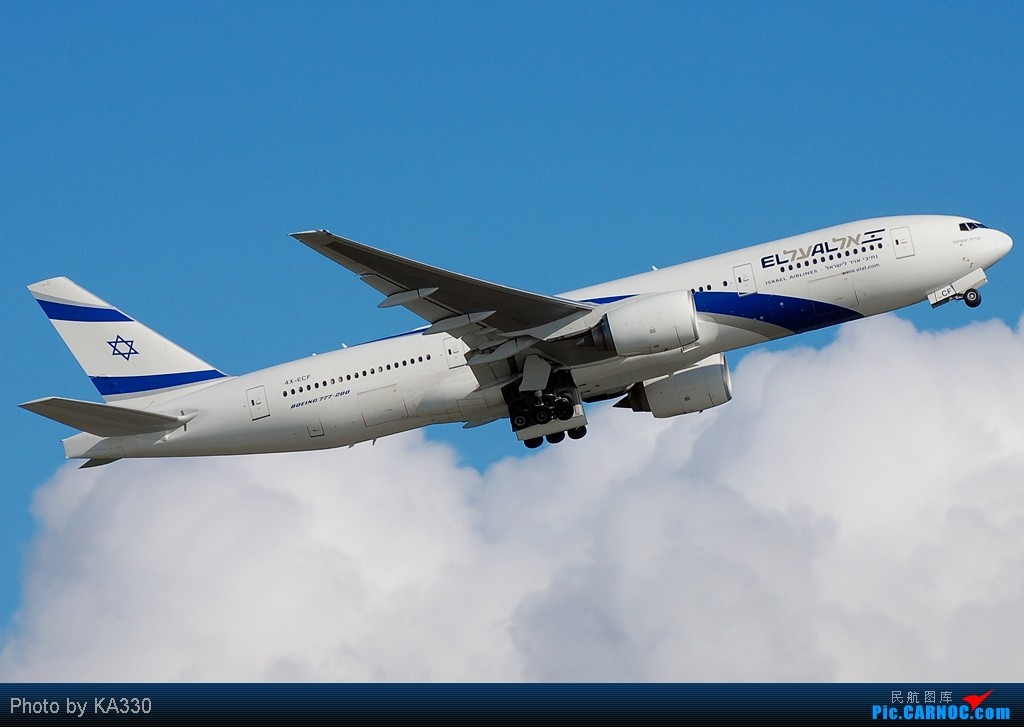 Re:[原创]【HKG】此等好天怎么不拍.... BOEING 777-200 4X-ECF 中国香港赤鱲角国际机场