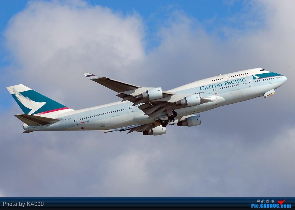 Re:[原创]【HKG】此等好天怎么不拍.... BOEING 747-412 B-HKE 中国香港赤鱲角国际机场
