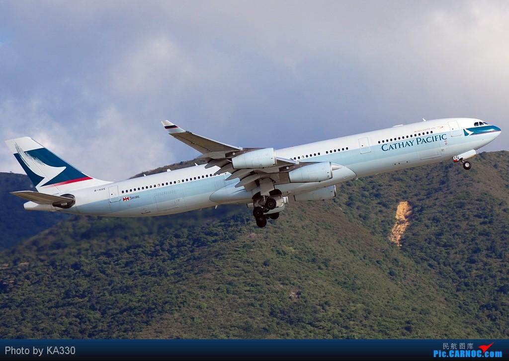 Re:[原创]【HKG】此等好天怎能不拍.... A340-313X B-HXE 中国香港赤鱲角国际机场