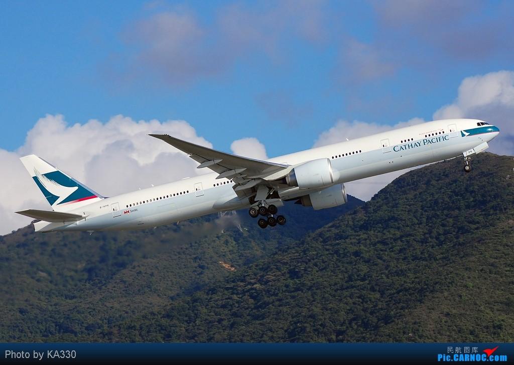 Re:[原创]【HKG】此等好天怎能不拍.... BOEING 777-367ER B-KPK 中国香港赤鱲角国际机场