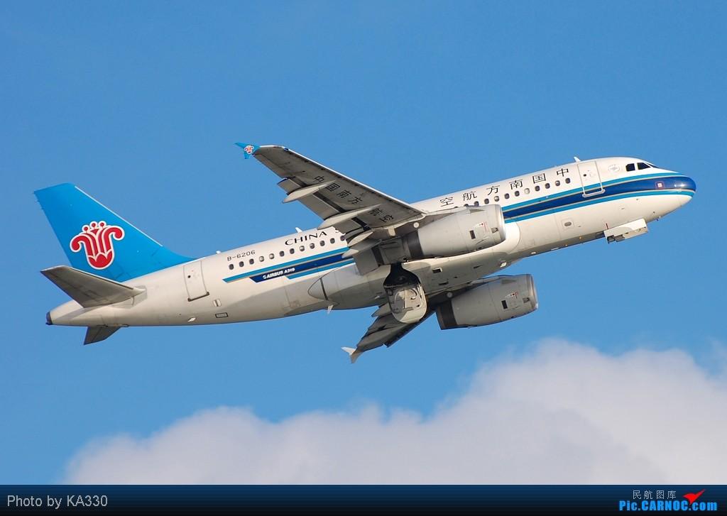 Re:[原创]【HKG】此等好天怎能不拍.... AIRBUS A319-100 B-6206 中国香港赤鱲角国际机场