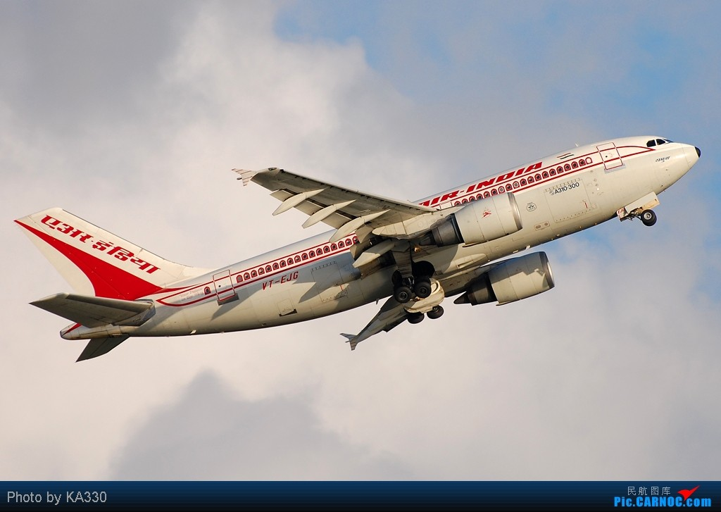 Re:[原创]【HKG】此等好天怎能不拍.... AIRBUS A310-300 VT-EJG 中国香港赤鱲角国际机场