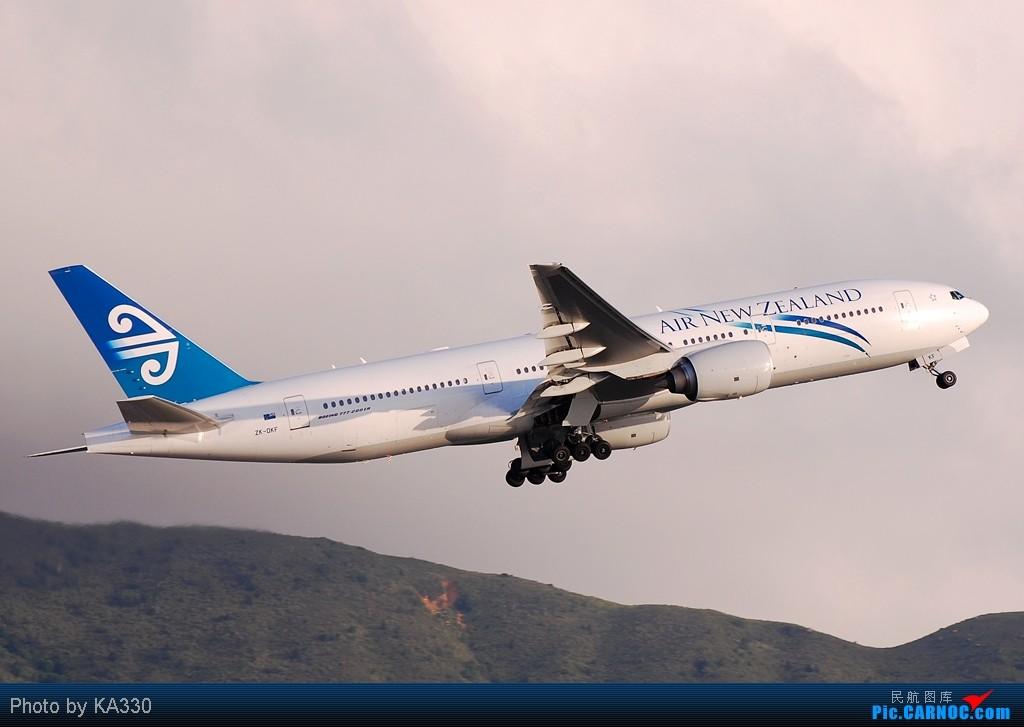 Re:[原创]【HKG】此等好天怎能不拍.... BOEING 777-200ER ZK-OKF 中国香港赤鱲角国际机场