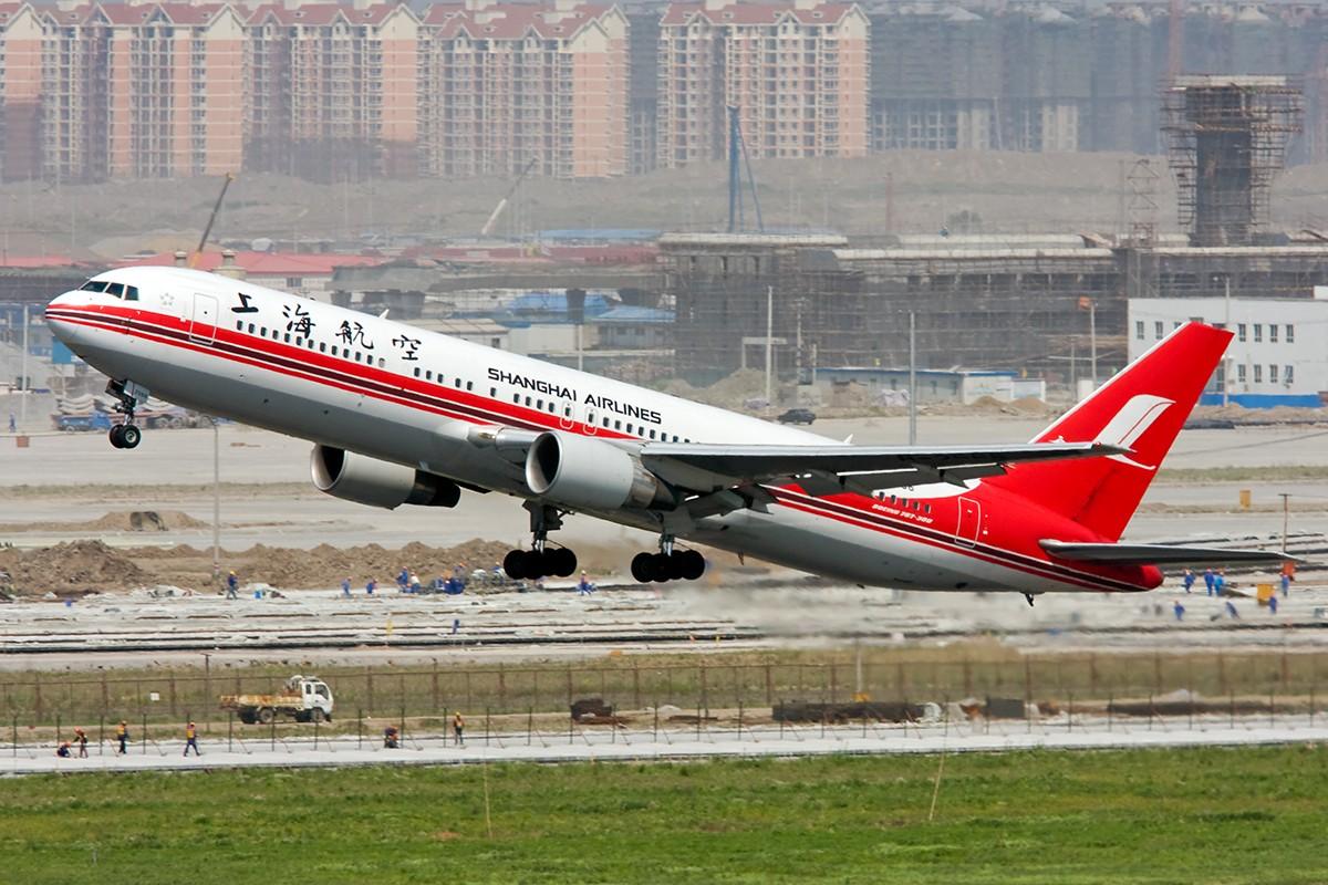 Re:【SHA】山寨塔台----上航篇----大小都有了! BOEING 767-300 B-2566 中国上海虹桥机场