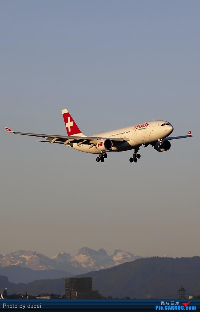 [原创][EASU]把这两个月的东西拿出来晒晒。- 瑞航第一架333,泰航346,图卢斯的380 AIRBUS A340-300 HB-IHJ Switzerland ZURICH