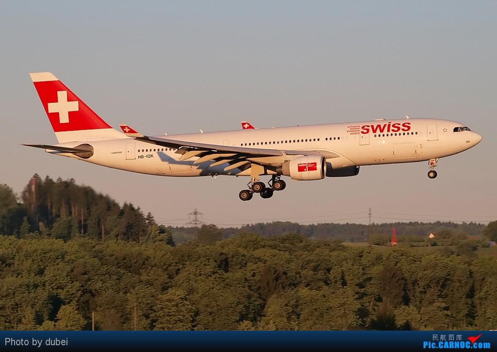 Re:[原创][EASU]把这两个月的东西拿出来晒晒。 AIRBUS A330-200 HB-IQK Switzerland ZURICH