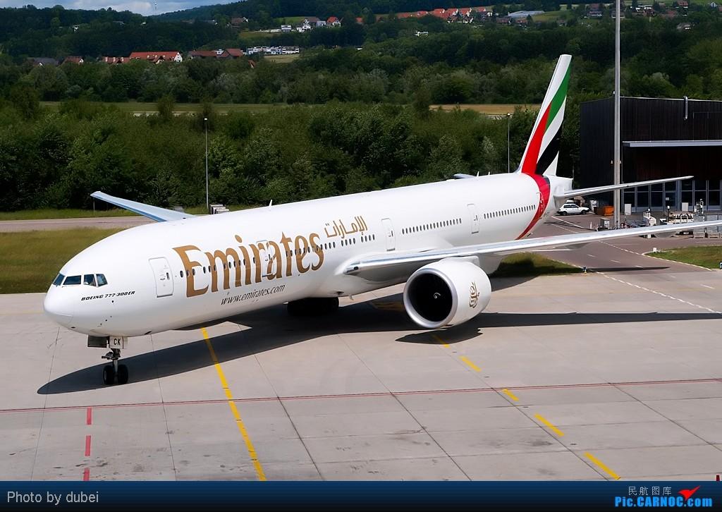 Re:[原创][EASU]把这两个月的东西拿出来晒晒。 BOEING 777-300ER A6-ECK Switzerland ZURICH