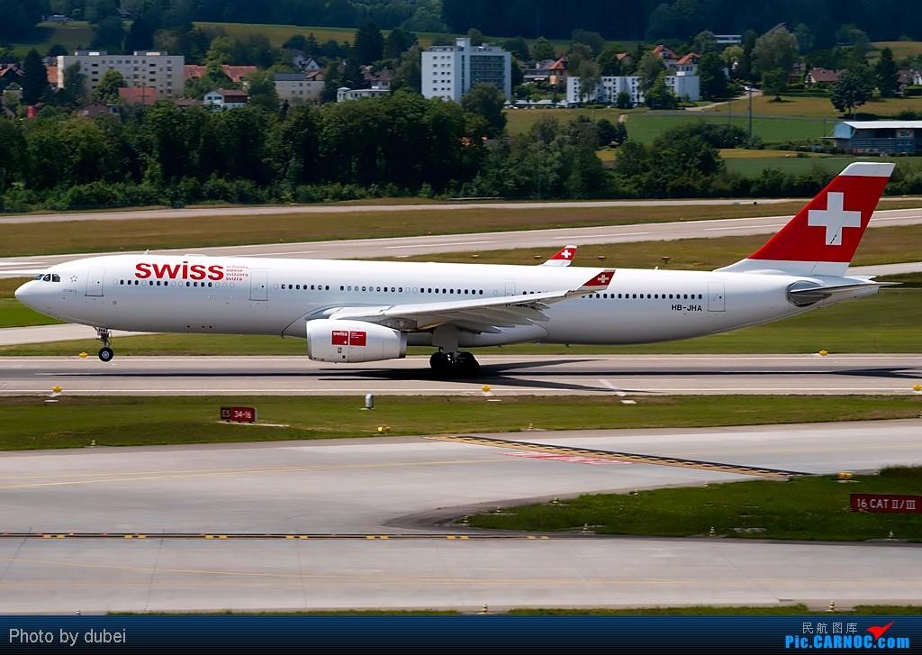 Re:[原创][EASU]把这两个月的东西拿出来晒晒。 AIRBUS A330-300 HB-JHA Switzerland ZURICH