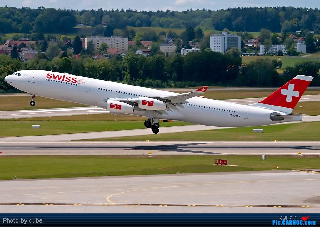 Re:[原创][EASU]把这两个月的东西拿出来晒晒。 AIRBUS A340-300 HB-JMO Switzerland ZURICH