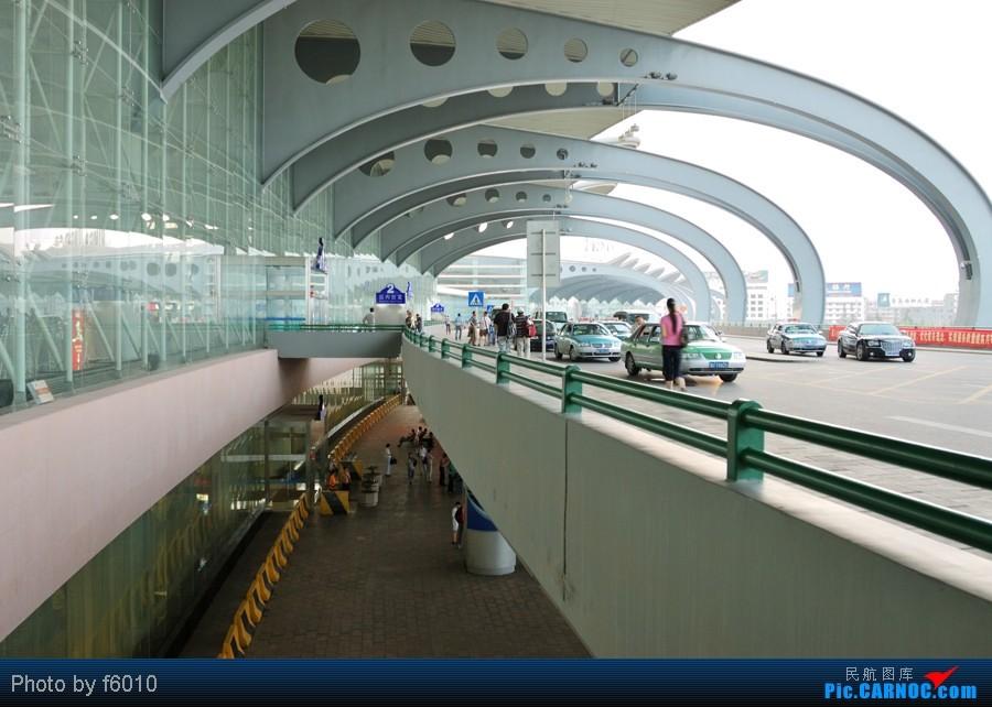 青岛流亭机场外景