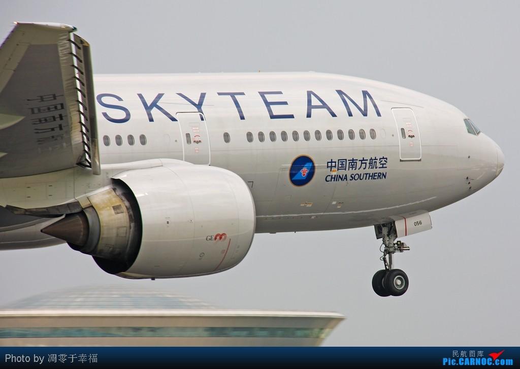 [原创]烂天--雷雨继续,胖鹰显灵!! BOEING 777-200ER B-2056 中国北京首都机场