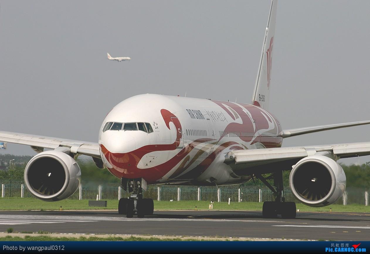 Re:[原创]烂天--雷雨继续,胖鹰显灵!! BOEING 777-200 B-2060 中国北京首都机场