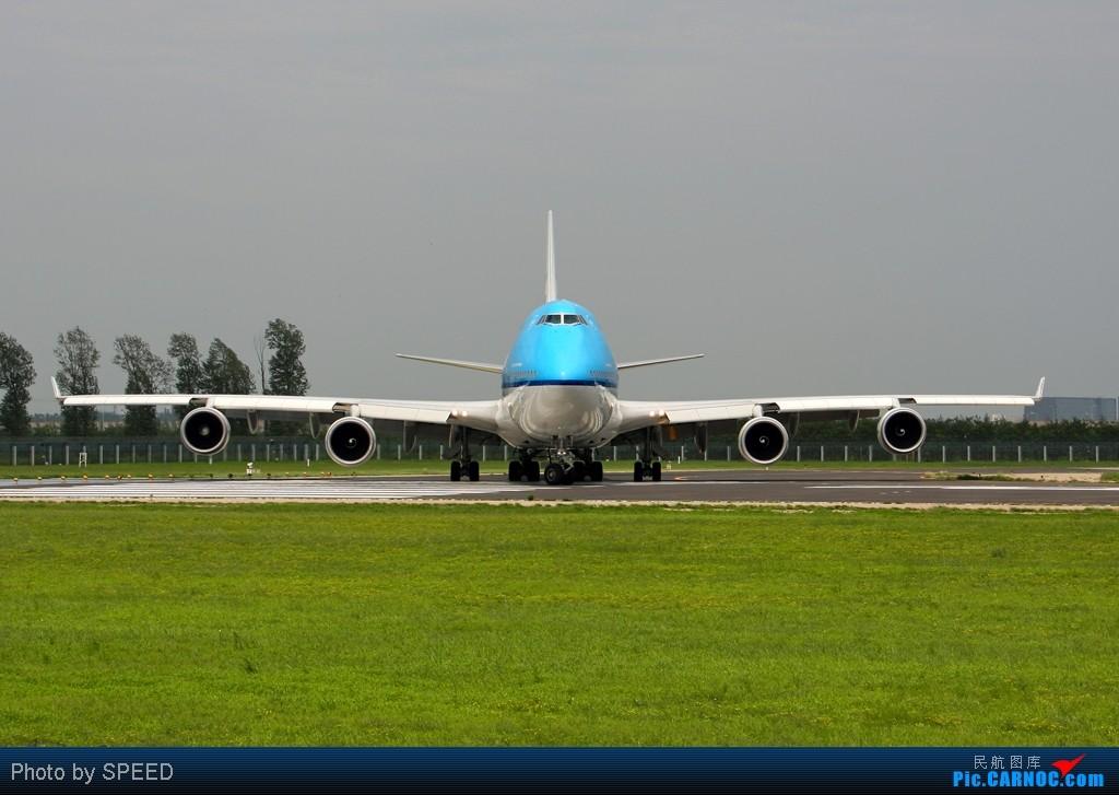 Re:[原创]18R-波音系列全大头 BOEING 747-400 PH-BFY 中国北京首都机场