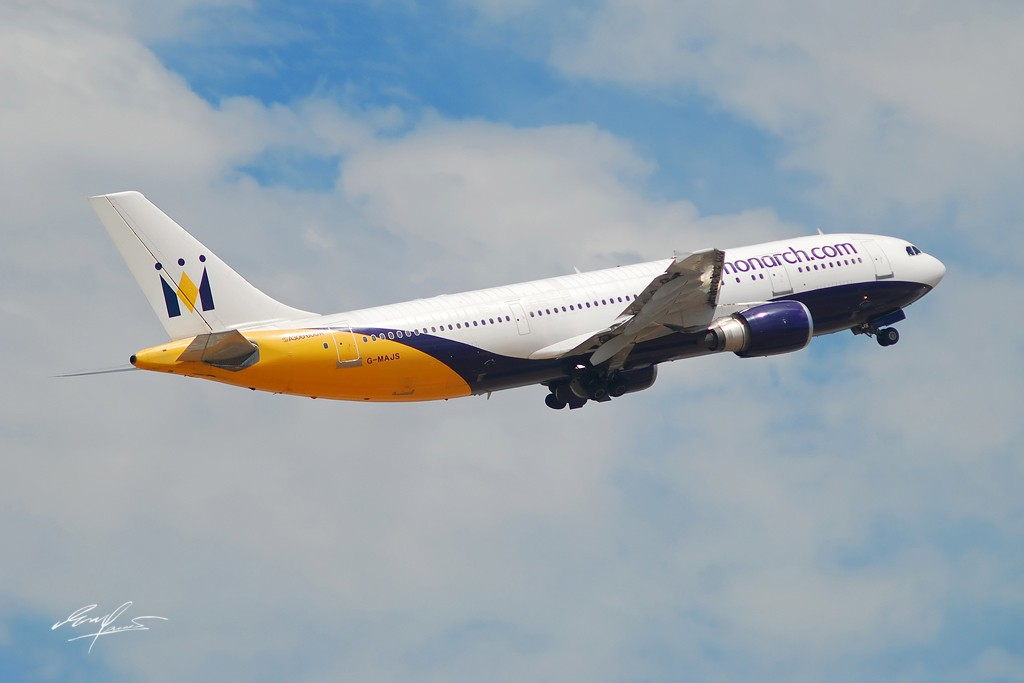 Re:背包族累,做个拍飞机的背包族更累~! AIRBUS A300-600R G-MAJS Spain MALAGA