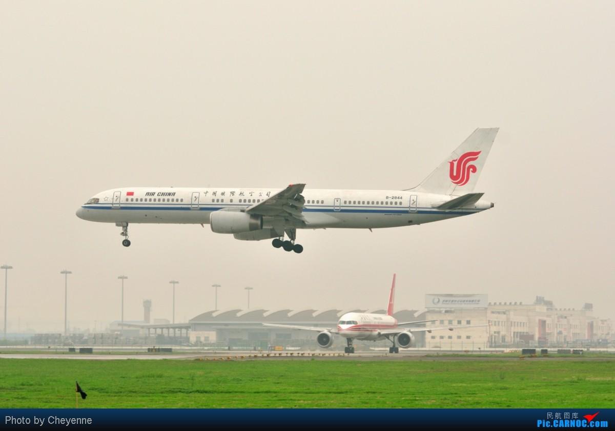 Re:[原创]管它天有多烂,多阴,多雾,打机还是得进行的!!! BOEING 757-200 B-2844 中国成都双流机场