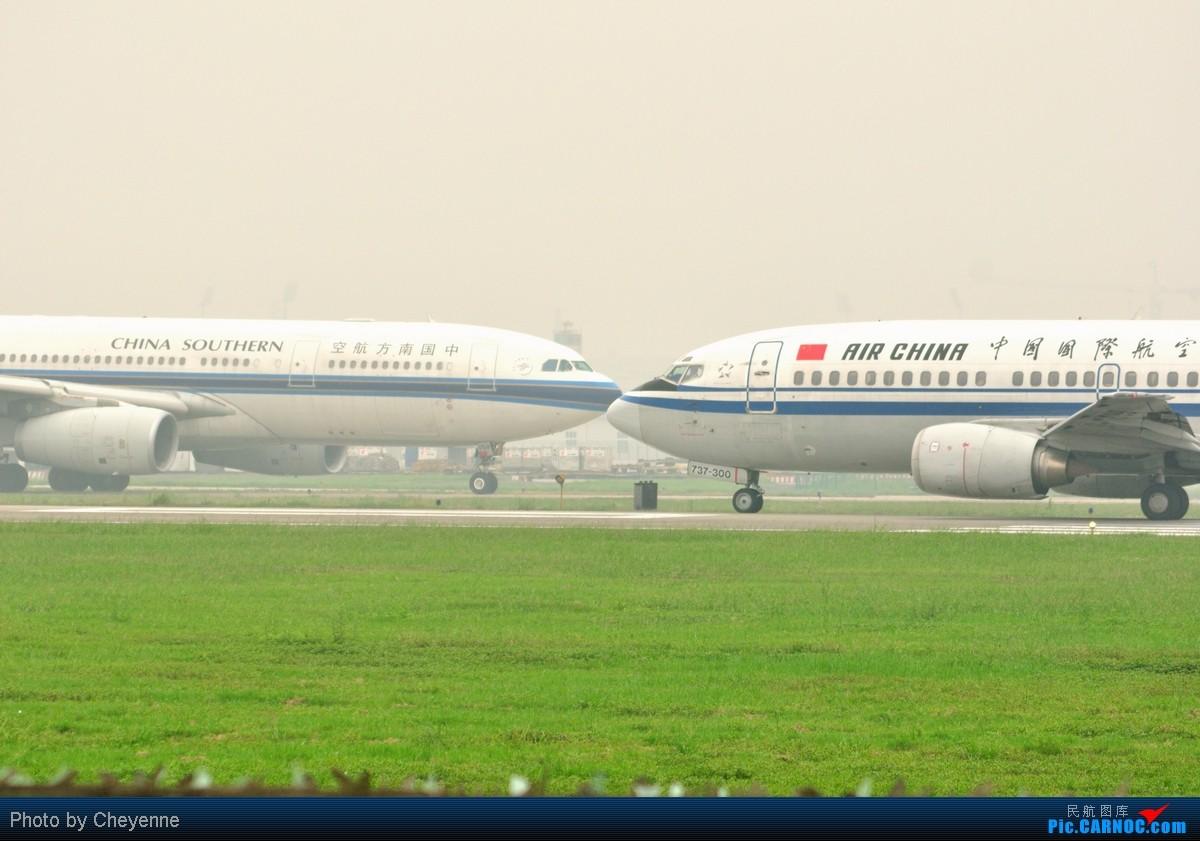 Re:[原创]管它天有多烂,多阴,多雾,打机还是得进行的!!! BOEING 737-300 B-2950 中国成都双流机场