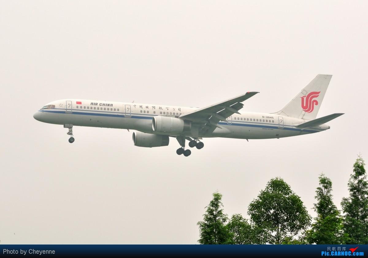 Re:[原创]管它天有多烂,多阴,多雾,打机还是得进行的!!! BOEING 757-200 B-2841 中国成都双流机场