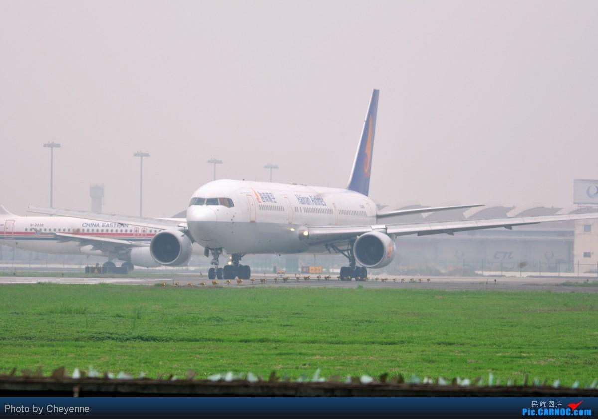 Re:[原创]管它天有多烂,多阴,多雾,打机还是得进行的!!! BOEING 767-300 B-2490 中国成都双流机场