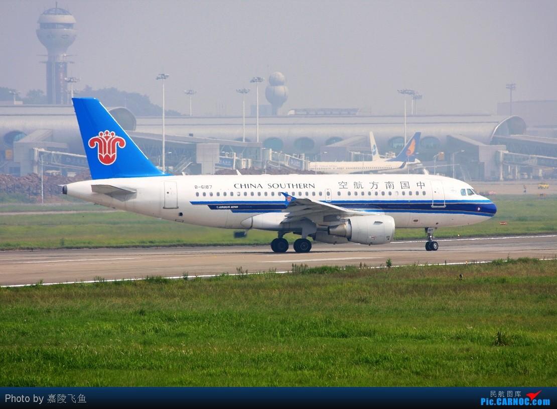 Re:[原创]晒晒八月的重庆江北机场 AIRBUS A319 B-6187 中国重庆江北机场