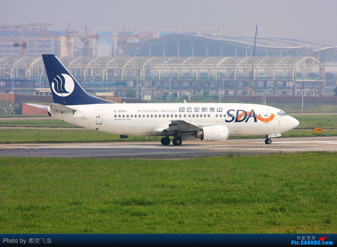 Re:[原创]晒晒八月的重庆江北机场 BOEING 737-300 B-2961 中国重庆江北机场
