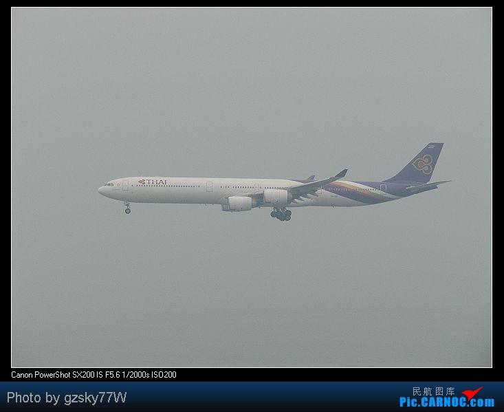 Re:[原创][深圳飞友会]深港两地机场二日游 AIRBUS A340-600 HS-TNF 中国香港赤鱲角国际机场