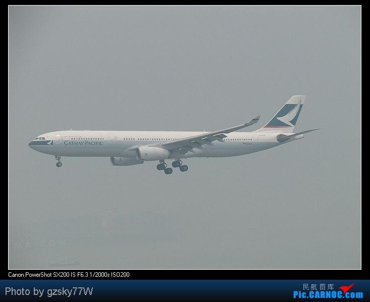 Re:[原创][深圳飞友会]深港两地机场二日游 A330-343X B-HLP 中国香港赤鱲角国际机场