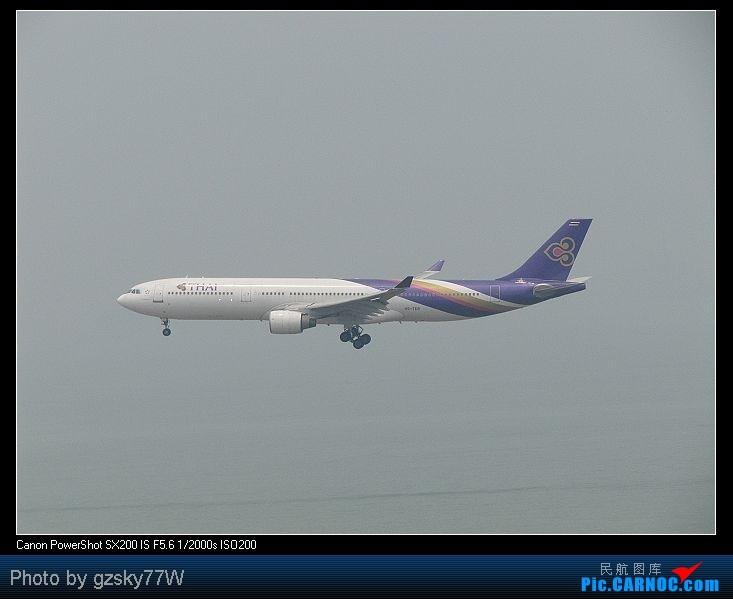 Re:[原创][深圳飞友会]深港两地机场二日游 AIRBUS A330-300 HS-TEB 中国香港赤鱲角国际机场