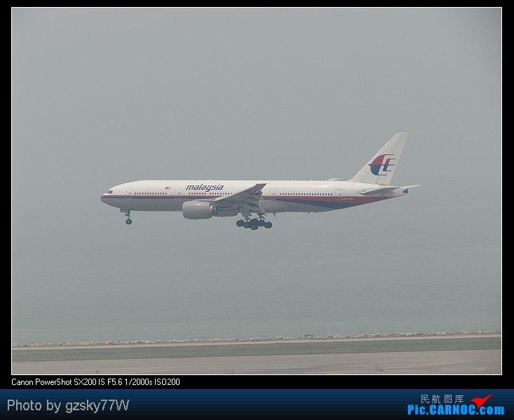 Re:[原创][深圳飞友会]深港两地机场二日游 BOEING 777-200 9M-MRD 中国香港赤鱲角国际机场