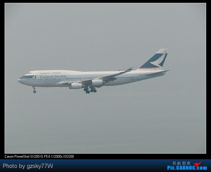 Re:[原创][深圳飞友会]深港两地机场二日游 BOEING 747-467 B-HOW 中国香港赤鱲角国际机场