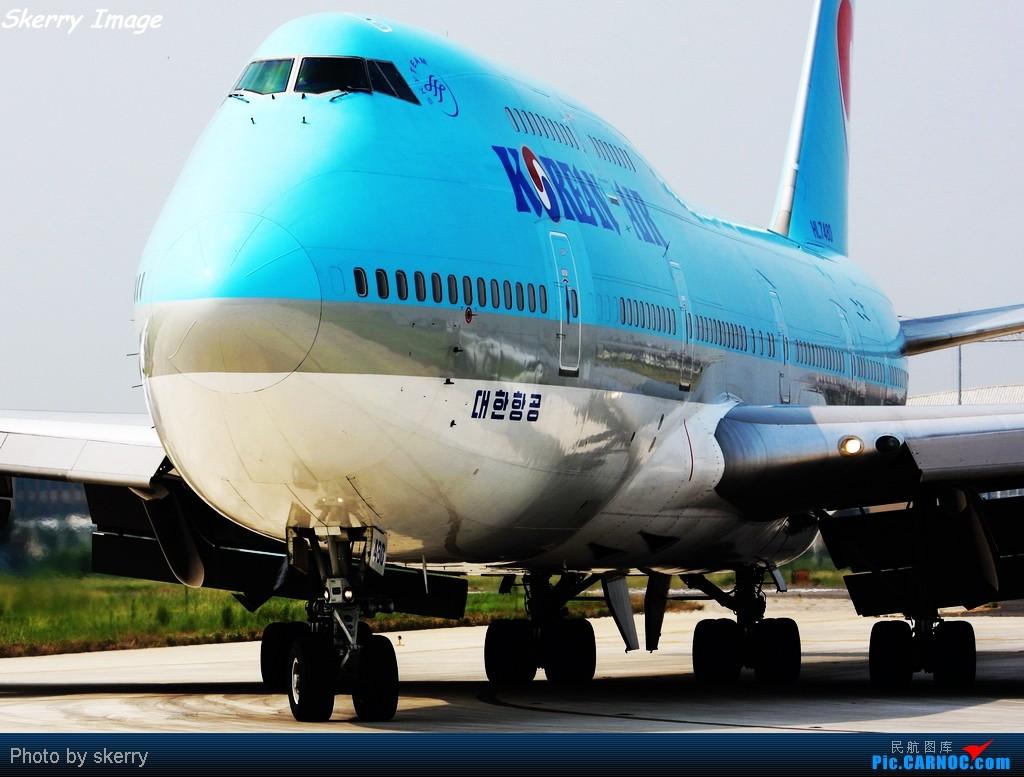 Re:***第一次拍TSN C4脱离照,也是最后一次!*** BOEING 747-400 HL7480 中国天津滨海机场