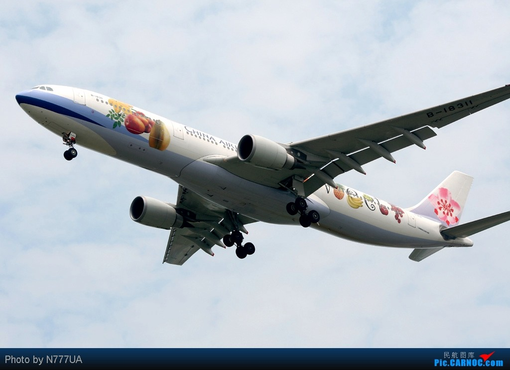 Re:[原创][高雄/深圳/上海/北京飞友会]发张华航庆祝第21届2009台北听障奥运倒数一周 AIRBUS A330-300 B-18311 RCTP
