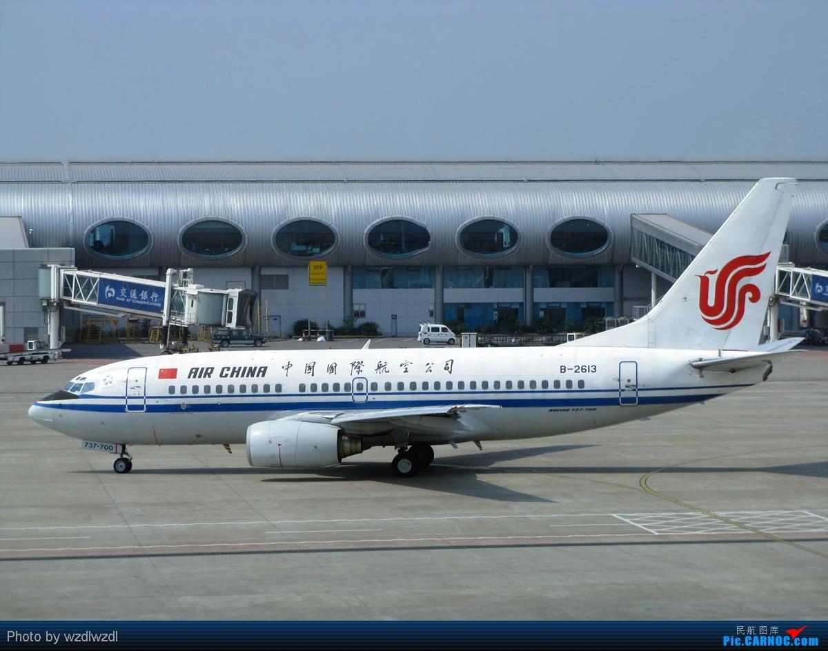 Re:[原创]晒晒八月的重庆江北机场 BOEING 737-700 B-2613 中国重庆江北机场