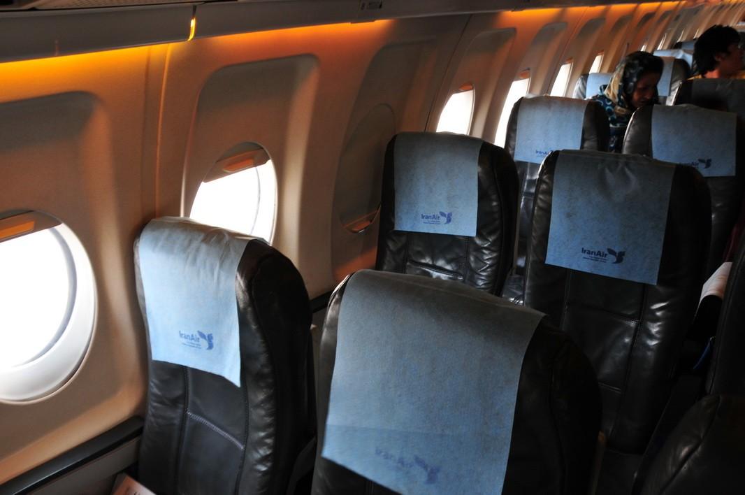 上飞机了,找到我的座位