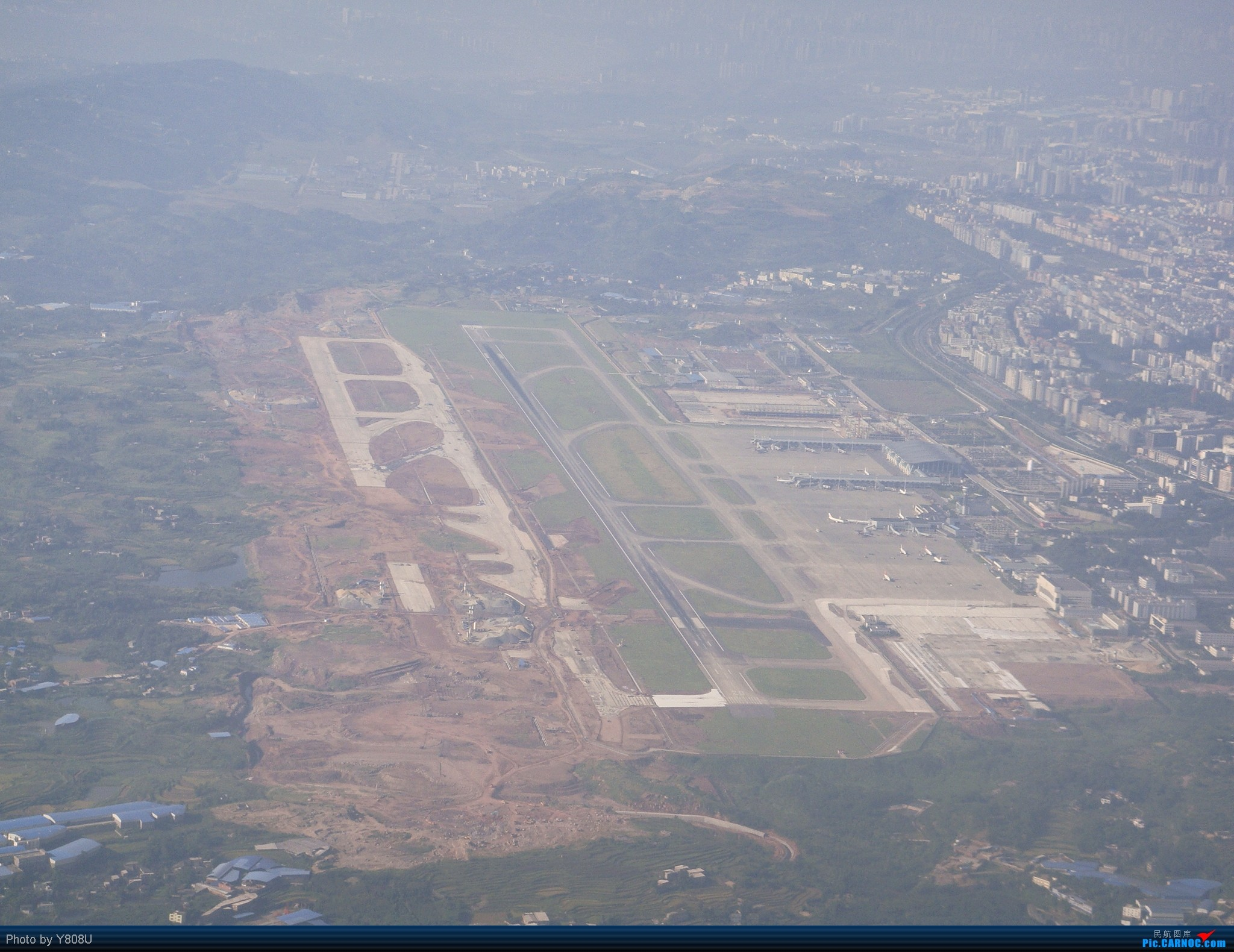 Re:[原创]晒晒八月的重庆江北机场    中国重庆江北机场