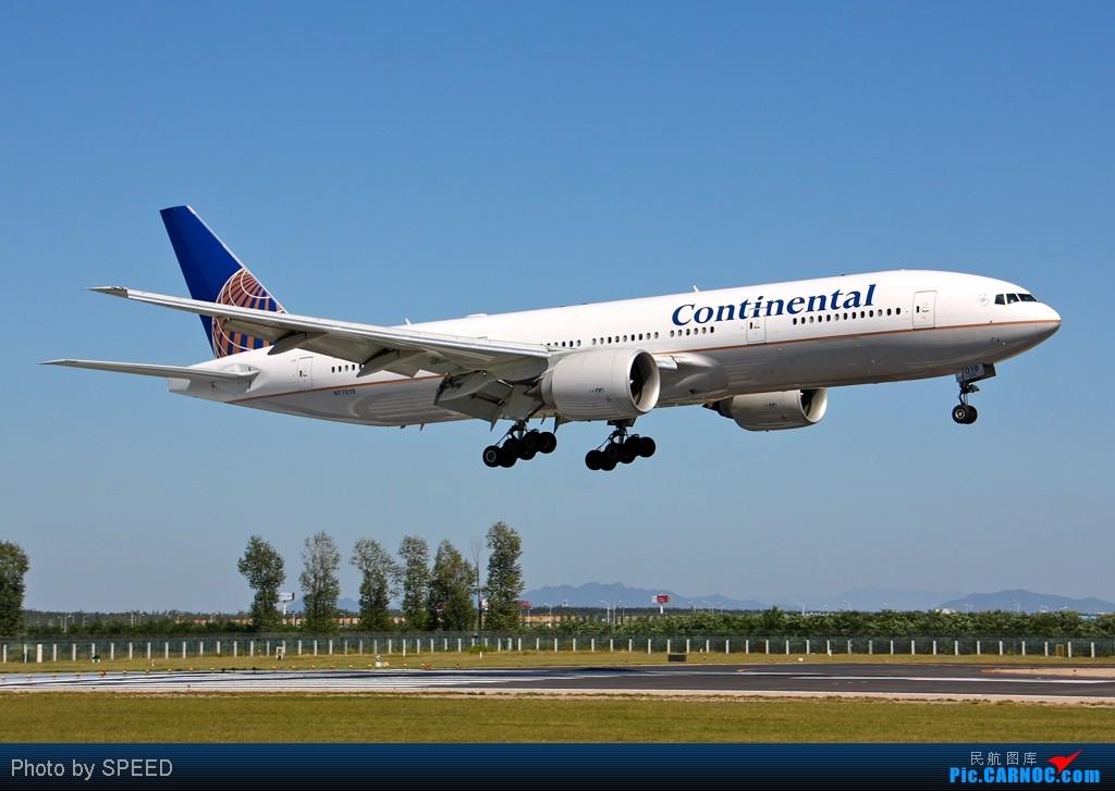 Re:「福州飞友会」前7个月的今天,某些人该送小飞机哦。。。。 BOEING 777-200 N77019 中国北京首都机场