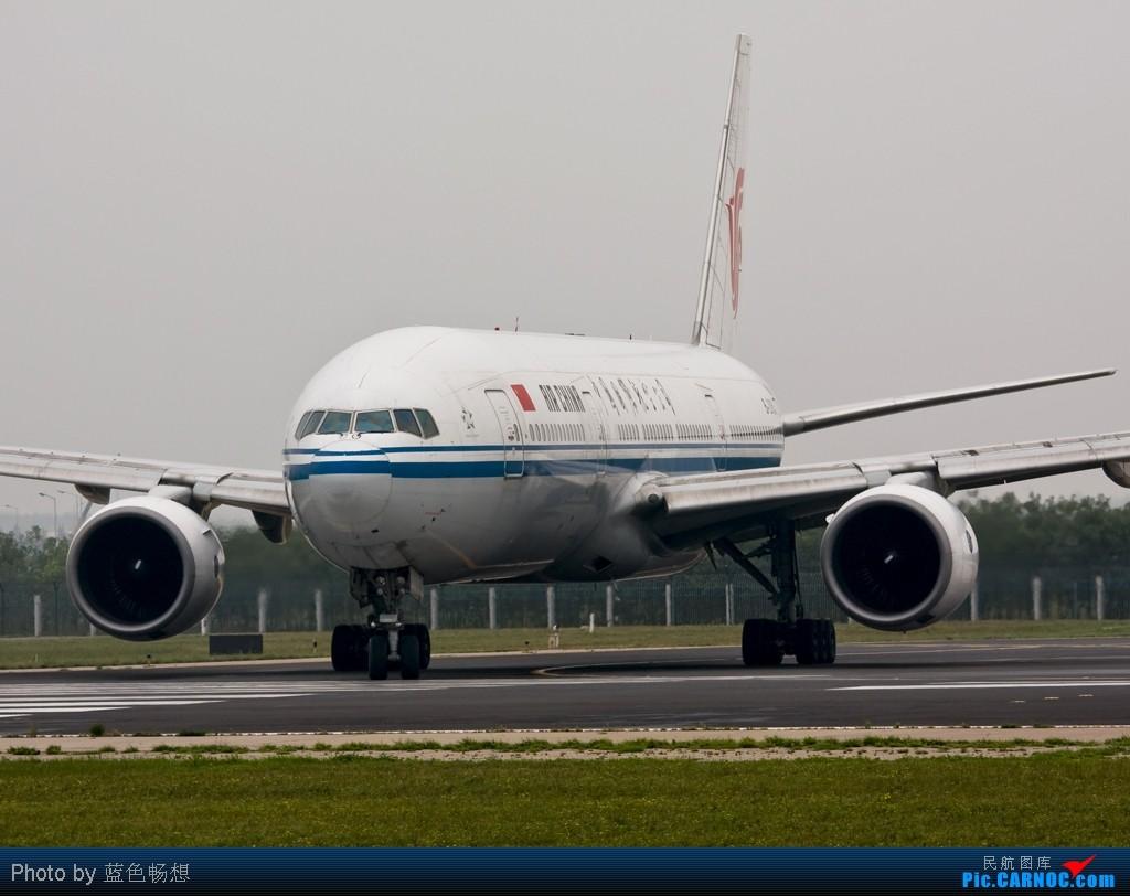 """[原创]<绝世痴飞>好久没有发图了,突然发现自己已经""""777""""了,772大肆庆祝一下! BOEING 777-200 B-2063 中国北京首都机场"""