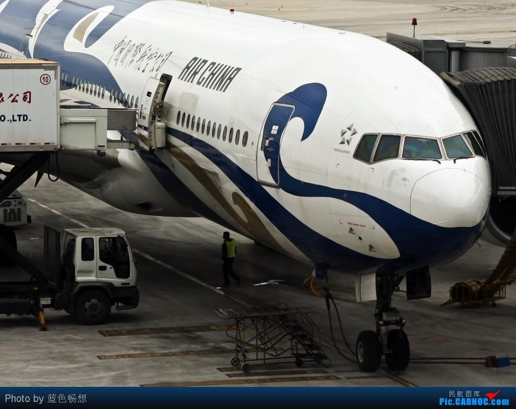 "Re:[原创]好久没有发图了,突然发现自己已经""777""了,772大肆庆祝一下! BOEING 777-200 B-2059 中国北京首都机场"