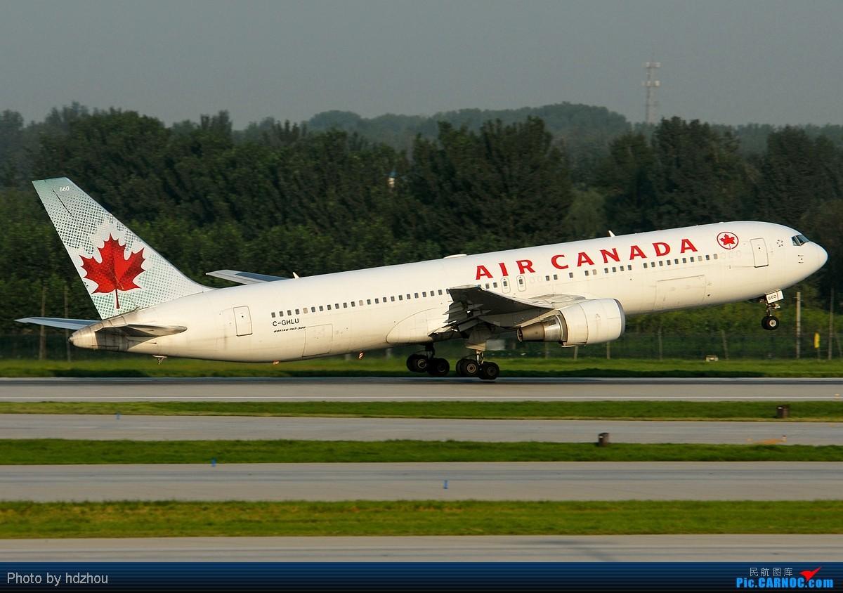 Re:[CASG]闲来无事。将最近的图修出来两百多张选几张能看的发上来! BOEING 767-333/ER C-GHLU 中国北京首都机场