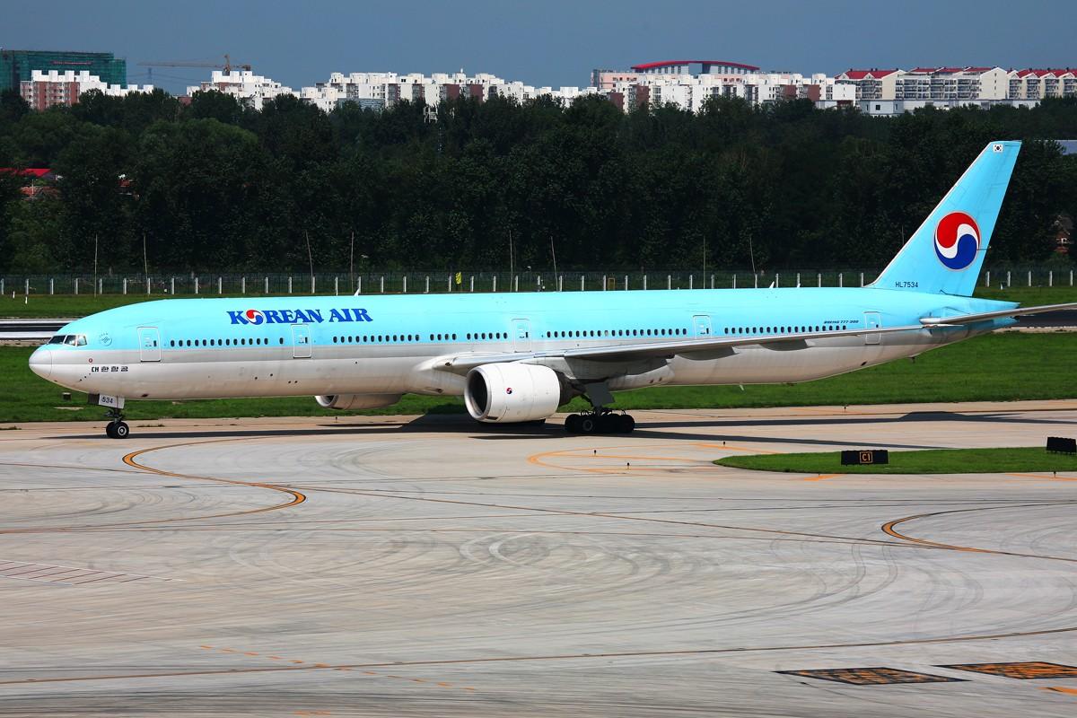 Re:[原创]【PEK】外航330+777+747,还有川航,东航!~ BOEING 777-300 HL7534 中国北京首都机场